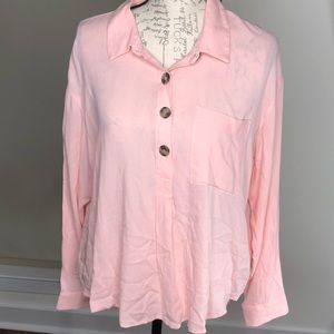 a.n.a light pink blouse